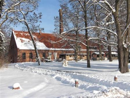 Museumsdorf Glashütte im Winter