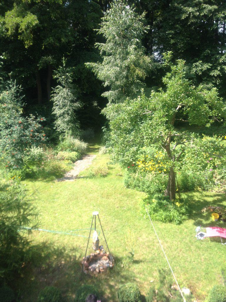 Der verwunschenen Garten im Hochstetter Haus in Bad Saarow