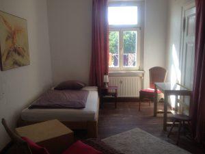 Zimmer im Hostel-Bahnhof Roßlau