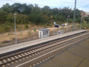 Wohnen und Schreiben im  Bahnhof Roßlau